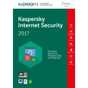 KASPERSKY Internet Security 2017 - 3 PCs