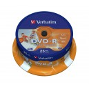 "25'er DVD-R Spindel 16x ""printable"""